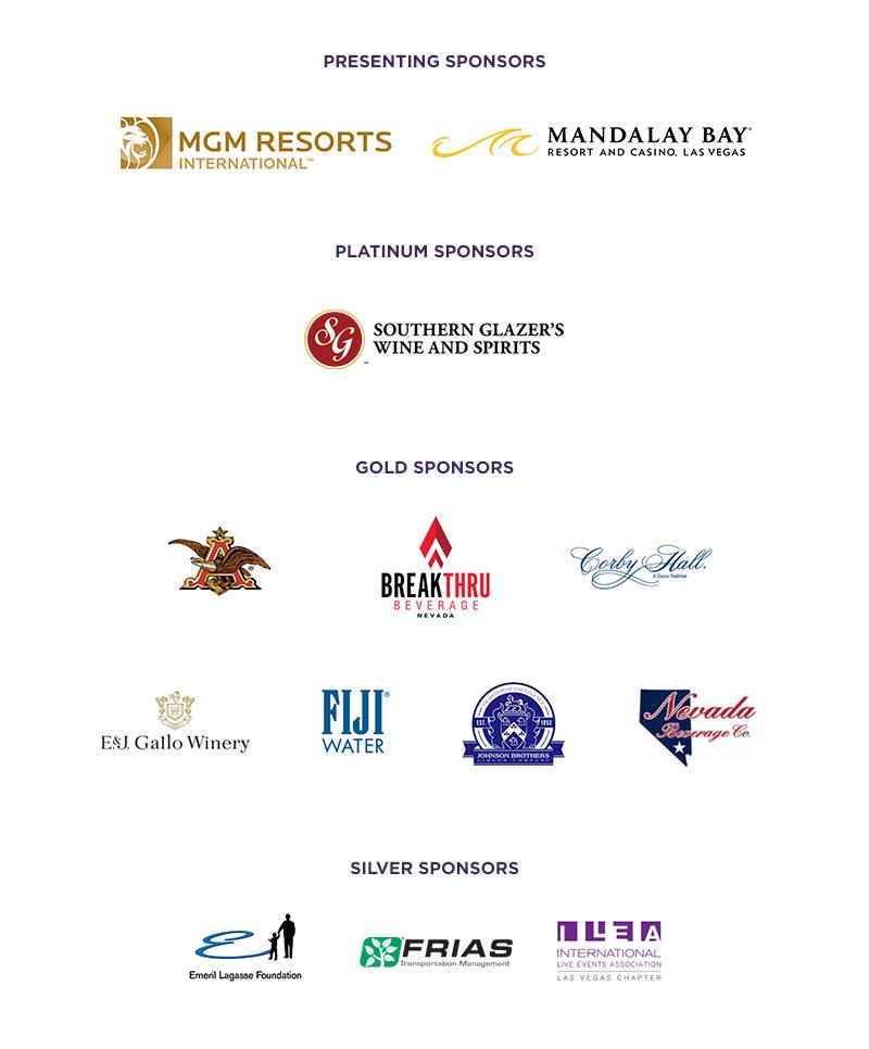 2016 MENUS Sponsors