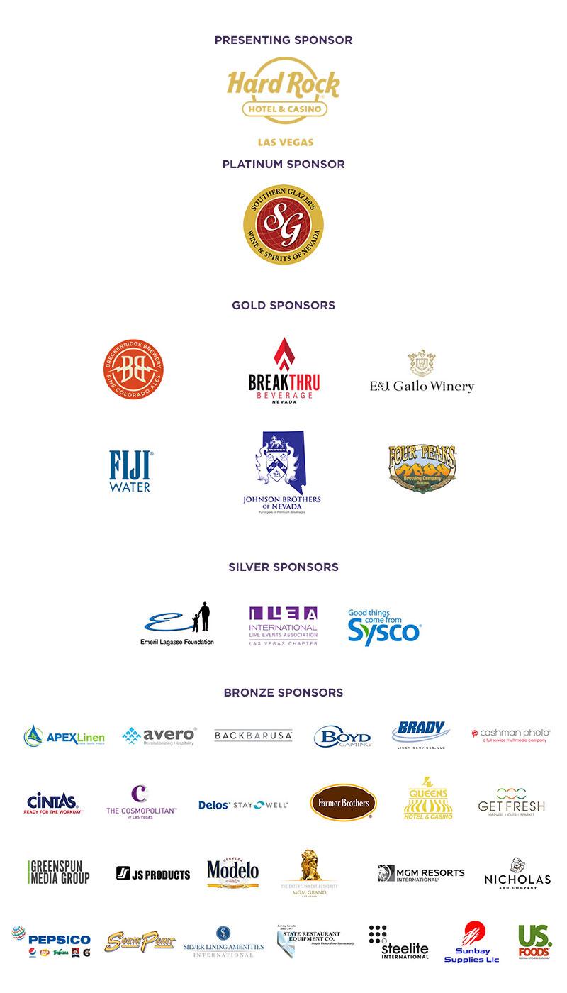2017 MENUS Sponsors